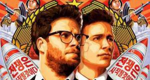 THE INTERVIEW, advance US poster art, from left: Seth Rogen, James Franco, 2014. ©Columbia
